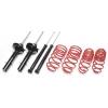 Seat Ibiza (84-93) 1.2l - 1.7l TA Technix amortizatori + atsperes, sēdinājums 35/--mm