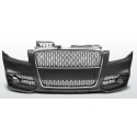 Audi A4 B7 (04-08) front bumper, black/chrome RS Look