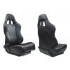 "Krēsls ""Monza Power"", melns, regulējams + sliedes"