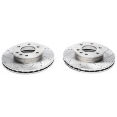 Mercedes-Benz Sprinter / VW Crafter priekšējie bremžu diski sporta