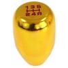 Ātruma pārslēgs, alumīnija, zelta JDM 5B M8x1.25