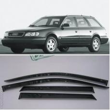Audi 100 (91-94), A6 C4 (94-97) avanta logu deflektori, 4 gab
