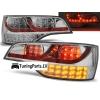 Audi Q7 4L (05-11) aizmugurējie LED lukturi, hromēti