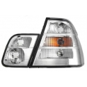 BMW E46 coupe (98-03) tail lights, all clear