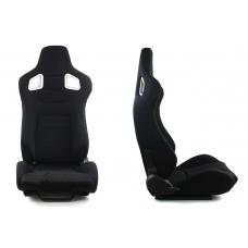 """Krēsls """"GLOCK"""", melns, regulējams + sliedes"""