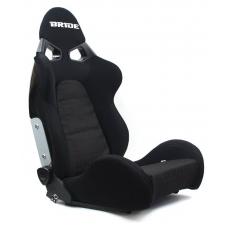 """Krēsls """"CUGA BRIDE"""", melns, regulējams + sliedes"""