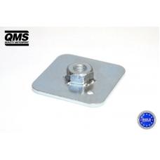 Montāžas plāksne ar uzgriezni QMS