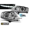 Audi A6 C6 4F (04-08) priekšējie lukturi, LED dayline, DRL, Xenona, Hrometi