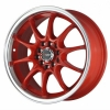 Drag DR9 16x7 ET40 5x100/114,3 Red
