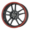 Tenzo-R DC-5 v1 18x8 ET45 5x112/114 Black/Red