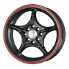 Tenzo-R Sinko 15x6,5 ET35 4x100/114,3 Black/Red