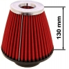 Simota gaisa filtrs 76mm ieeja, sarkans