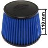 Simota gaisa filtrs 114mm ieeja, zils