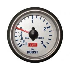 """Turbīnas spiediena mērītājs 3 bar """"silver"""""""