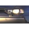 Alfa Romeo 156 priekšējo lukturu uzlikas, melnas