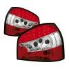 Audi A3 8L (96-03) aizmugurējie LED lukturi, sarkani