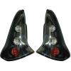 Citroen C4 (04-09) 3-durvju aizmugurēji lukturi, melni