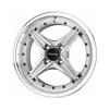 Drag DR30 15x7 ET40 4x100 Silver Machined