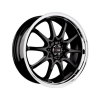 Drag DR9 16x7 ET40 5x100/114,3 Gloss Black