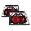 Alfa Romeo 155 aizmugurējie lukturi, hromēti