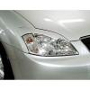Toyota Corolla (01-06) priekšējo lukturu uzlikas, melnas