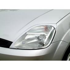 Ford Fiesta (02-08) priekšējo lukturu uzlikas, melnas