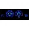 Peugeot 306 plazmas spidometri 20-220km/h, 8000 RPM, balti