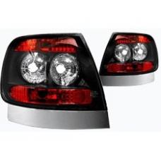 Audi A4 B5 (94-01) aizmugurējie lukturi, melni