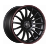 Tenzo-R Cuzco v1 18x9 ET35 5x100/114 Black/Red