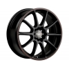 Tenzo-R Mach-10 17x7 ET42 5x100/114,3 Black/Red