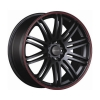 Tenzo-R TenSpec 18x8 ET37 5x112/114,3 Black/Red