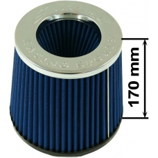 Simota gaisa filtrs 89mm ieeja, zils