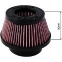 TURBOWORKS gaisa filtrs 76mm ieeja, violets