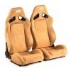 """Krēsls """"Leipzig"""", smilškrāsas, regulējams + sliedes, labais + kreisais"""