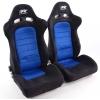 """Krēsls """"Chicago"""", zils/melns, regulējams + sliedes, labais + kreisais"""