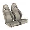 """Krēsls """"Dortmund"""", pelēks, regulējams + sliedes, labais + kreisais"""