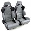 """Krēsls Edition 1"""", melns/pelēks, regulējams + sliedes, labais + kreisais"""