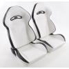 """Krēsls """"Halbschalensitz"""", balts, regulējams + sliedes, labais + kreisais"""