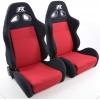 """Krēsls """"Sport"""", melns/sarkans, regulējams, labais + kreisais"""
