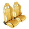 """Krēsls """"New York"""", zelta/sudraba, regulējams + sliedes, labais + kreisais"""