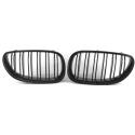 BMW E60/E61 (03-10) M-Look priekšējās restes, melnas / glancētas
