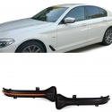 BMW 5er G30 G31 6er G32 GT 7er G11 LED pagriezienu rādītāji, spogulī tonēti SEQ