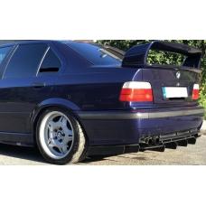 BMW E36 aizmugurējā bampera difuzors
