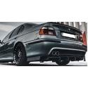 BMW E39 aizmugurējā bampera difuzors