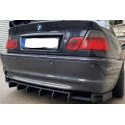 BMW E46 aizmugurējā bampera difuzors