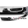 BMW F10/ F11 / F18 11-16 M PERFORMANCE priekšējā bampera uzlika, melnas / glancētas
