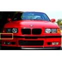 BMW E36 priekšējā M3 bampera moldingi KREISAIS