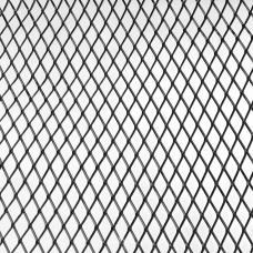 Alumīnija dekoratīvais siets 100x33cm, melns