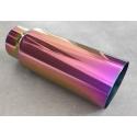 Izpūtēja uzgalis, apaļš, violets 110mm, taisns gals, garums - 30cm