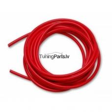 Vakuuma silikona truba 3mm, sarkana